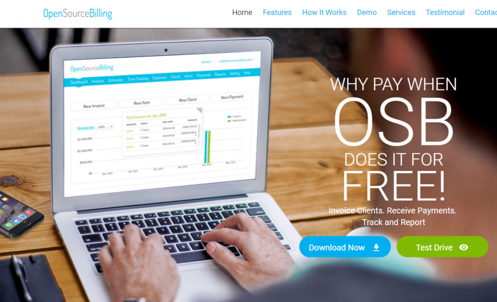 Best Free Open Source Invoicing Software For Small Business - Invoice software open source free download
