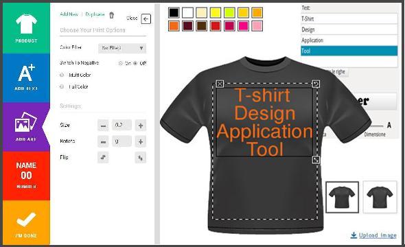 t shirt custom design software