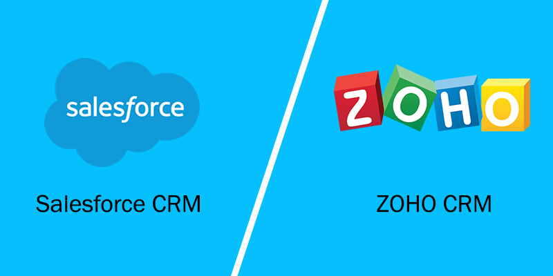 Zoho CRM vs Salesforce - Why Zoho CRM is Better than