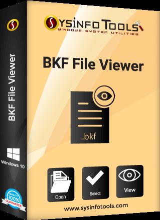 SysInfo BKF Viewer