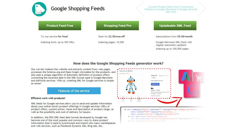 Google Shopping Feed Generator - Software Reviews, Pricing